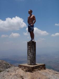 Emil på toppen