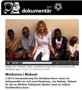 Madonna i Malawi