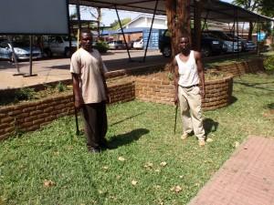 gräsklippare i Malawi