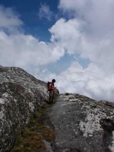 Hannes bland molnen