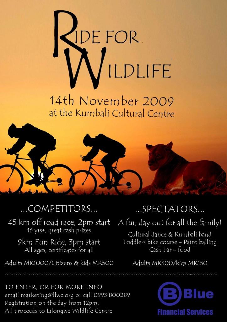 Ride for Wildlife