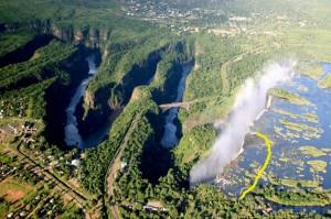 Victoriafallet och Batoka Gorge