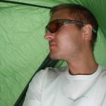 Jag under tarpen
